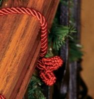 Decorative Twist Ties for Securing Garland, Lights and More!