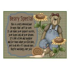 Give that someone close to you this cute card to let them know they're beary special. Free online Beary Special ecards on Friendship Friends Day, Cards For Friends, Cute Friendship Quotes, Miss You Cards, Angel Cards, Cute Panda, Feeling Special, E Cards, Card Sizes