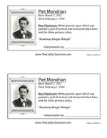Famous Artists Printables and Lesson Plans