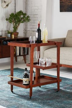 Assembly Home Tovah Bar Cart - Urban Outfitters