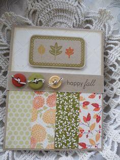 Mish Mash: Happy Fall Card