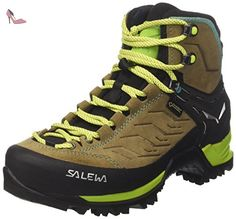 salewa ws mtn trainer mid gore tex chaussures de trekking et randonnee femme