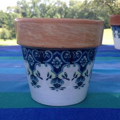 From the Country Cottage Le Jardinier Flower Cache Pot Collection