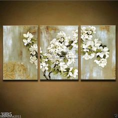 Handpainted Free Shipping Stretched Framed Wall Art Pure por btfart