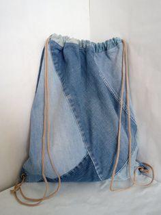 Hipster Denim Rucksack für den Sport Patchwork jeans backpack for sportswear for Denim Backpack, Denim Bag, Travel Backpack, Hipster Rucksack, Beach Backpack, Car Travel, Summer Travel, Travel Bags, Leather Backpack