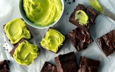 Avocado Brownies With Avocado Frosting | Recipe