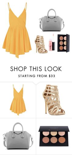"""""""Crystal Keffler STS"""" by sabbtenn on Polyvore featuring Glamorous, Steve Madden, Givenchy and MAC Cosmetics"""