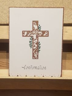 Confirmation Card by ConcordGreetingCards on Etsy