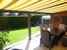 arnyekolás JVS – Wintergardens – Inchideri terase cu sisteme culisante si sticla securizata Outdoor Structures