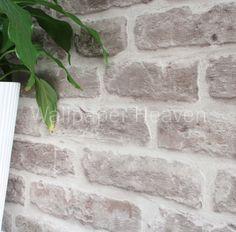 Brickhouse' Wallpaper in Stone Sample: Amazon.co.uk: Kitchen & Home