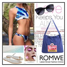 """ROMWE 8"" by damira-dlxv ❤ liked on Polyvore"