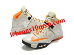 lowest price 86f60 e011a Nike Lebron Zoom Soldier VI Shoes Gray Orange Kobe Shoes, Air Jordan Shoes,