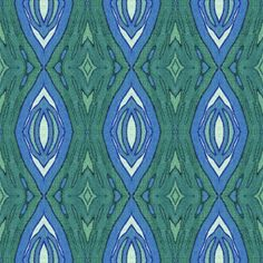 Shop Peacock Palette fabric by Margaret Juul at WeaveUp - custom fabric