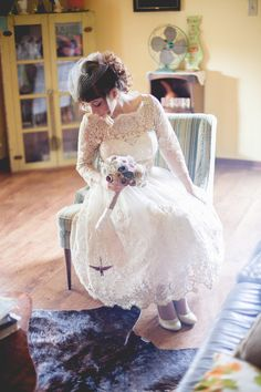 Our Gilded Grace Dress in Champagne #marriedinmodcloth #cream #lacedress #romantic