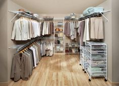 17 Awesome Wire Shelving Closet Design Picture Ideas