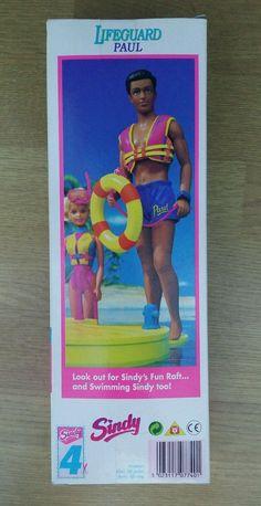 Sindy Doll Lifeguard Paul | eBay
