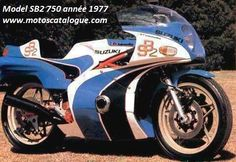 1977 Bimota (Italy)  SB2 750