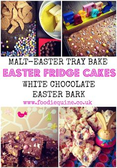 Easter Fridge Cakes - White Chocolate Bark and Malt Easter Tray Bake Chocolate Fridge Cake, Chocolate Biscuit Cake, Chocolate Granola, Cooking Chocolate, White Chocolate Bark, Easter Chocolate, Melting Chocolate, Biscuit Mix, Digestive Biscuits