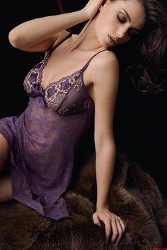 Lingerie Models: Catrinel Menghia for Lise Charmel.
