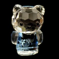 Mini cat blue hello kitty #austrian #crystal figurine ornament sculpture #rrp$79,  View more on the LINK: 	http://www.zeppy.io/product/gb/2/181733125271/