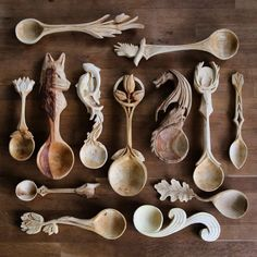 kitchen witch spoons