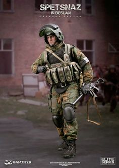 onesixthscalepictures: DAM Toys SPETSNAZ in BESLAN : Latest product news for 1/6 scale figures (12 inch collectibles).