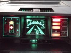 """Tableau de bord de la Citroen BX série spéciale """"Digit"""""""