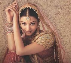Sposa indiana, magnifica