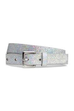 Silver Glittery belt