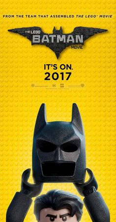 Directed by Chris McKay.  With Ralph Fiennes, Rosario Dawson, Michael Cera, Will Arnett. A spin-off of The Lego Movie (2014) centering on the character of Batman.