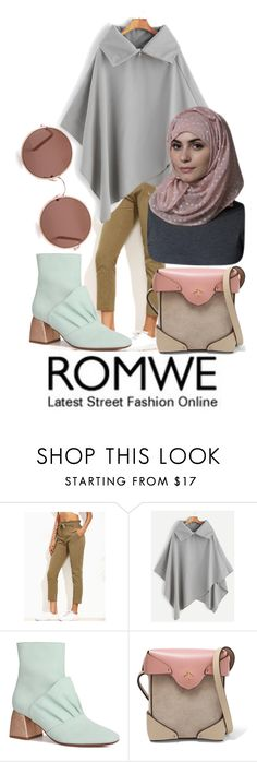 """Romwe Fever!"" by nabillasyarah ❤ liked on Polyvore featuring MANU Atelier and Sunday Somewhere"