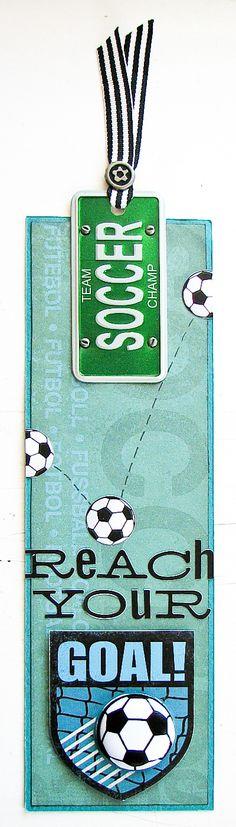 Cute Soccer Bookmark