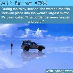 The border between heaven and earth - WTF fun facts