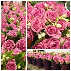 Para bodas. Todo en rosa aqua