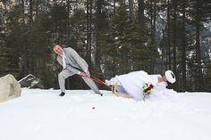 """Hochzeitskonzept Winterhochzeit: """"Im Schnee heiraten"""" Wedding Pics, Blog, Snow, Getting Married, Ideas, Wedding Photos, Wedding Photography"""