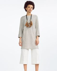 Image 1 of RUSTIC KNIT DRESS from Zara