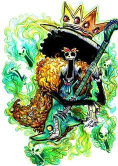 One Piece, Brook