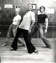 Lisa Niemi, Patsy Swayze, and Patrick Swayze