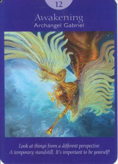 Angel Tarot: What would you like me to know about you? Awakening.