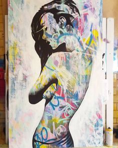 adam_craemer_artFresh lady in need of a name  36 x 60  #newyorkart #adamcraemerart #loftartwork #girls #emergingartist #visualartist #originalart #streetart #urbanart #gallery #nude #artist #perthartist #mandurahartist #graffitiartist #londonart #laart ♥♥♥ https://www.instagram.com/adam_craemer_art/