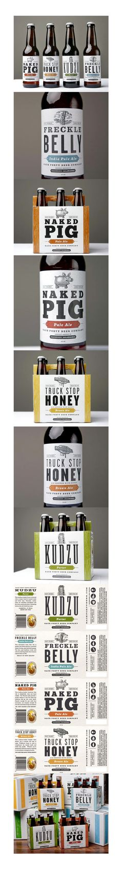 Back Forty Beer Co. Repinned by www.strobl-kriegner.com #branding #packaging #design #creative #marketing