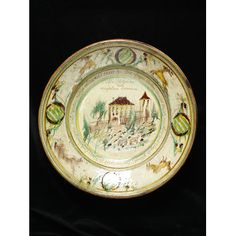 Dish and strainer Delft, Earthenware, Decorative Plates, Pottery, Collections, Ceramics, Dishes, Antiques, Search