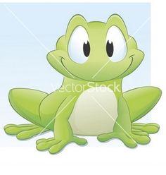 Cartoon Frog Pond | Cartoon frog vector art - Download Frog vectors