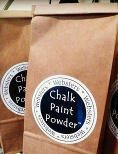 Webster's Chalk Paint Powder by AllGoodThingsKY on Etsy, $13.95