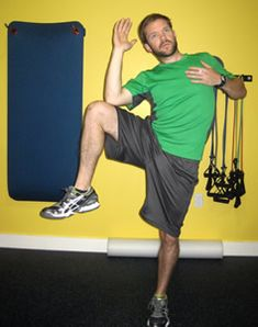 The standing oblique crunch is a great way to warm up both the leg and the oblique muscles before you do the other two exercises. 30-50 per side