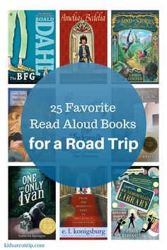 We're always looking for read aloud books for a road trip, so we've compiled choices from friends, teachers, along with our favorites for the ultimate list.