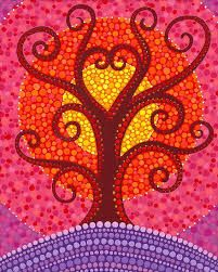 Image result for beautiful dot art painting