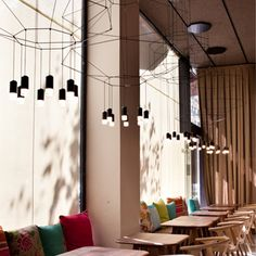 Wireflow chandelier designed by Arik Levy. http://www.vibia.com/en/lamps/show/id/03004/hanging_lamps_wireflow_0300_design_by_arik_levy.html?utm_source=pinterest&utm_medium=organic&utm_campaign=wireflow