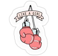 Run, fight, throw, succeed, ace that exam, beat out all the boys - whatever you do, do it the best way, like a girl. / All proceeds I receive from sales of these products will be donated to the Planned Parenthood Action Fund. • Also buy this artwork on stickers, apparel, phone cases, and more.