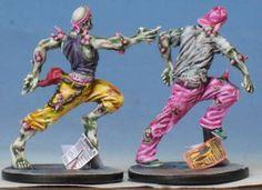 Zombies toxiques vague 4